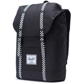 Herschel Retreat Backpack 19,5l Unisex, black/checkerboard